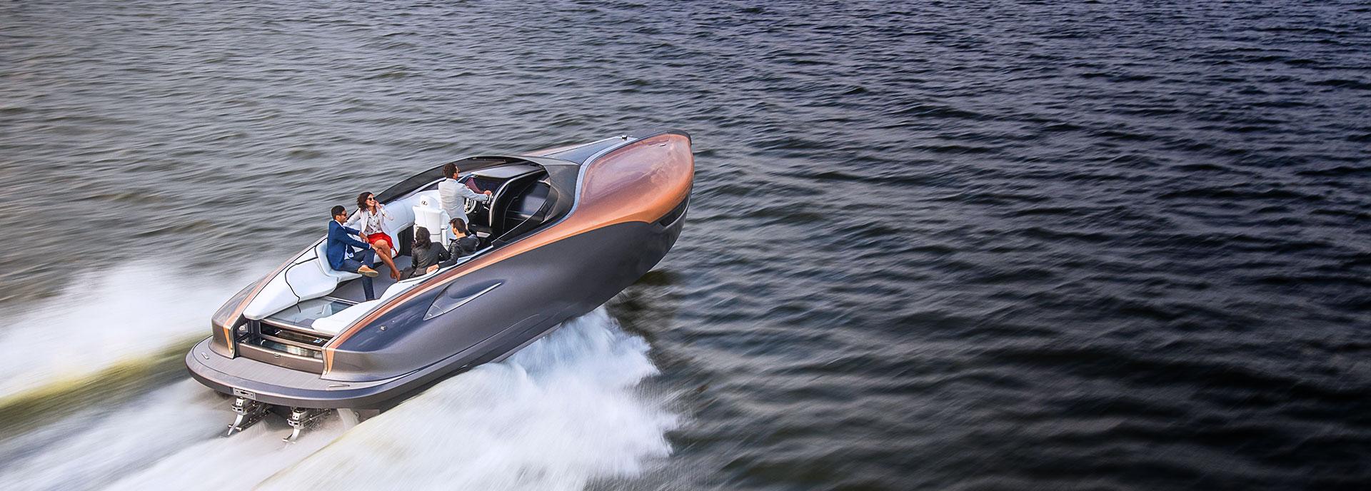 2017 Lexus Sports Yacht Concept Hero