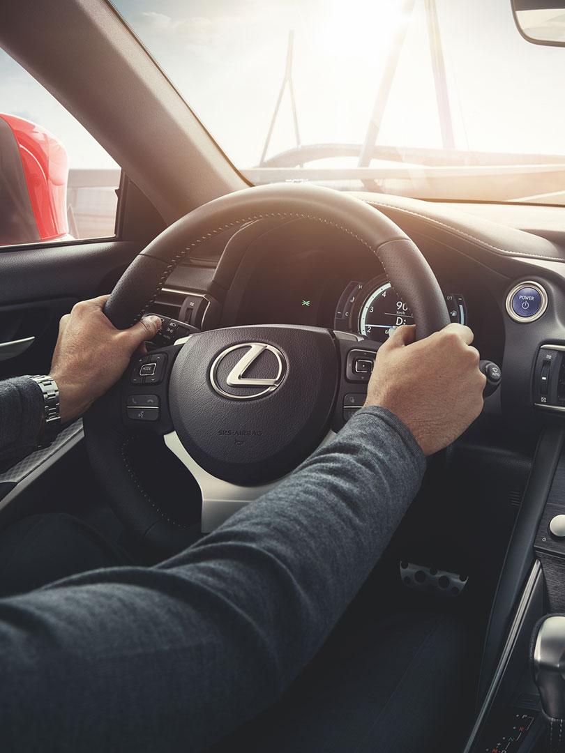 2017 lexus hybrid for business portrait driving performance