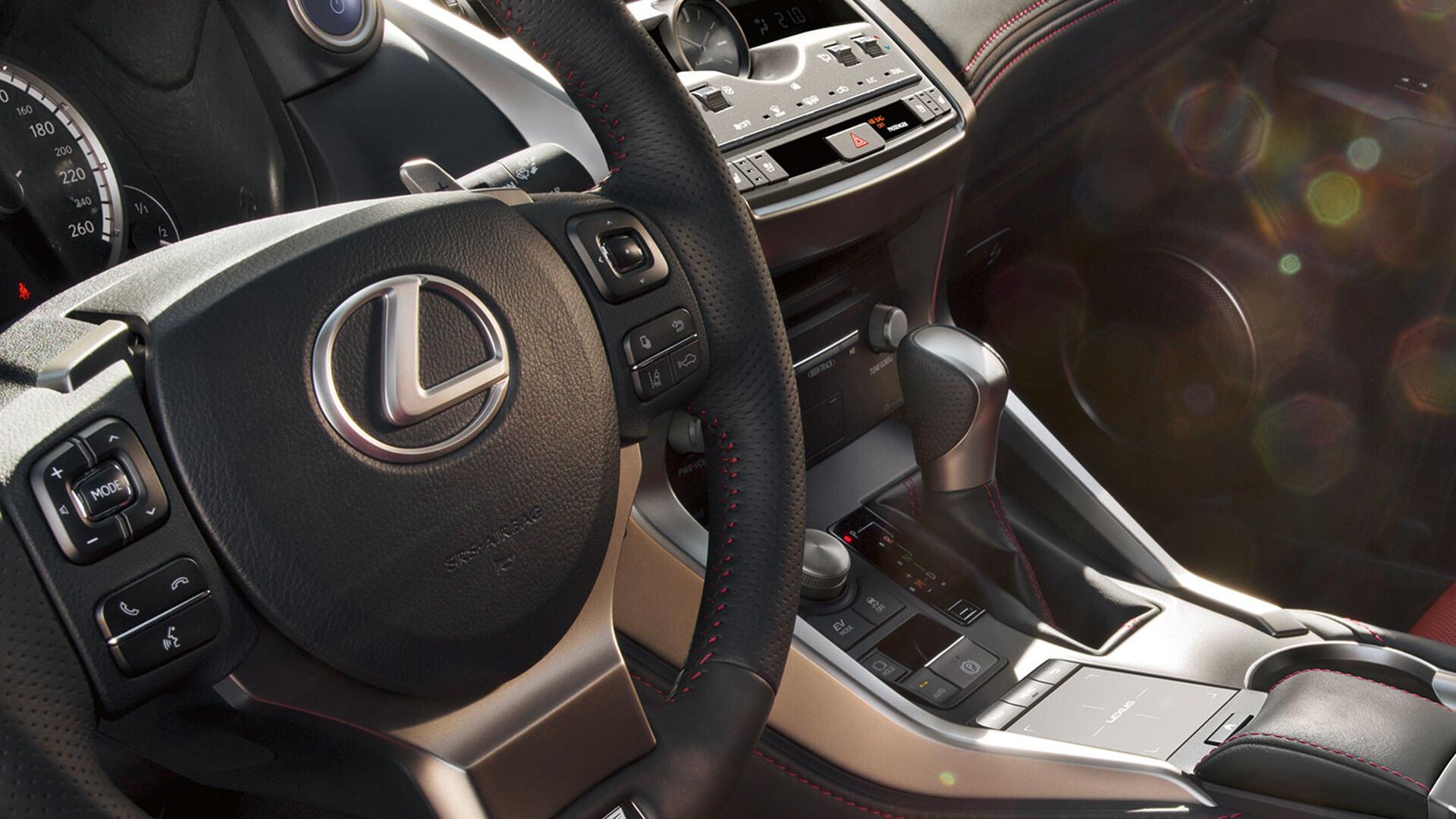 2018 lexus nx my18 features leather steering wheel