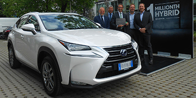 Lexus Million Hybrids promo