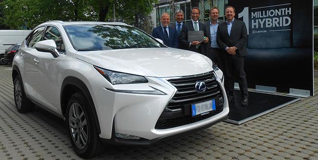 Lexus Million Hybrids article