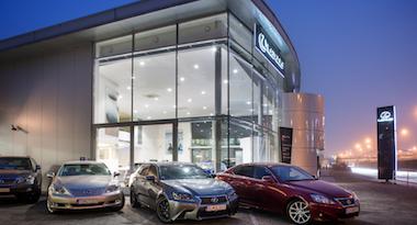 Lexus Bratislava Retailer Image