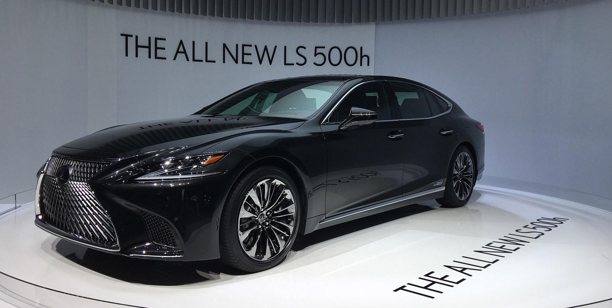 Lexus LS 500h 01