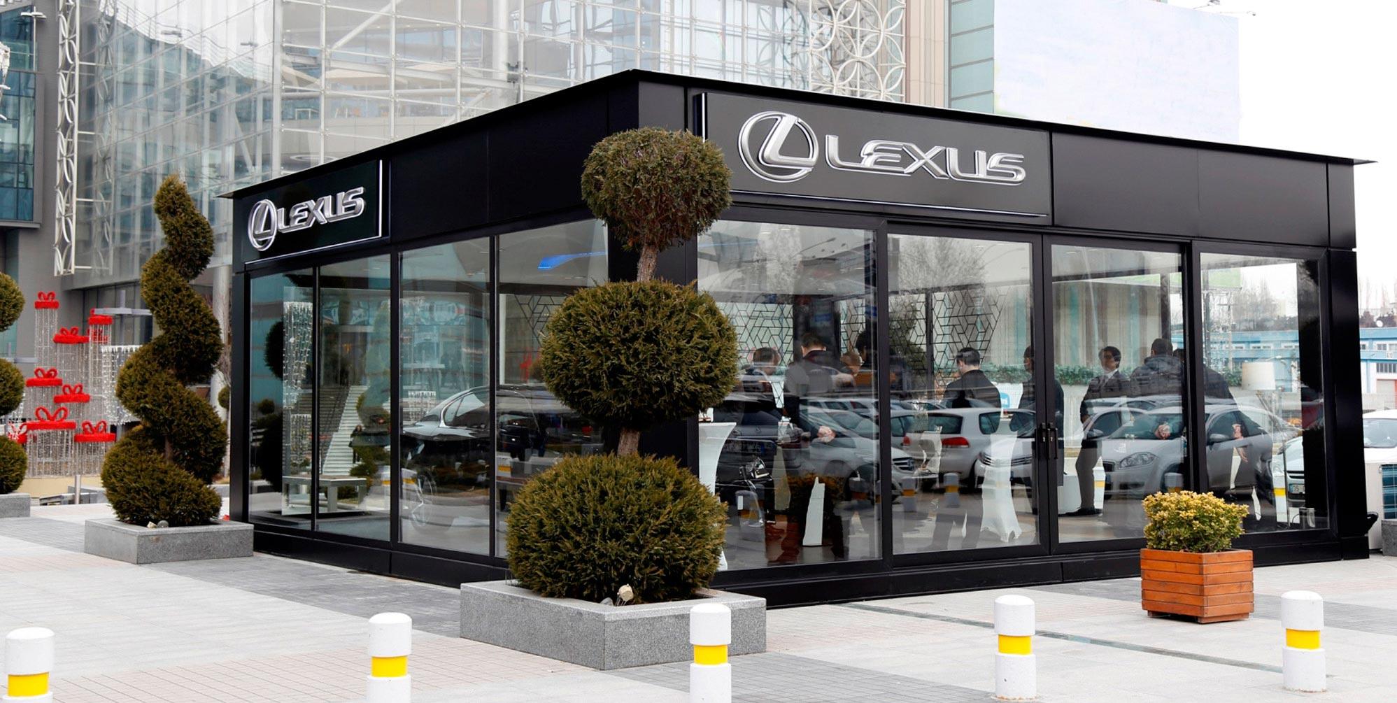 Lexus ShowroomYeni Ankara 01