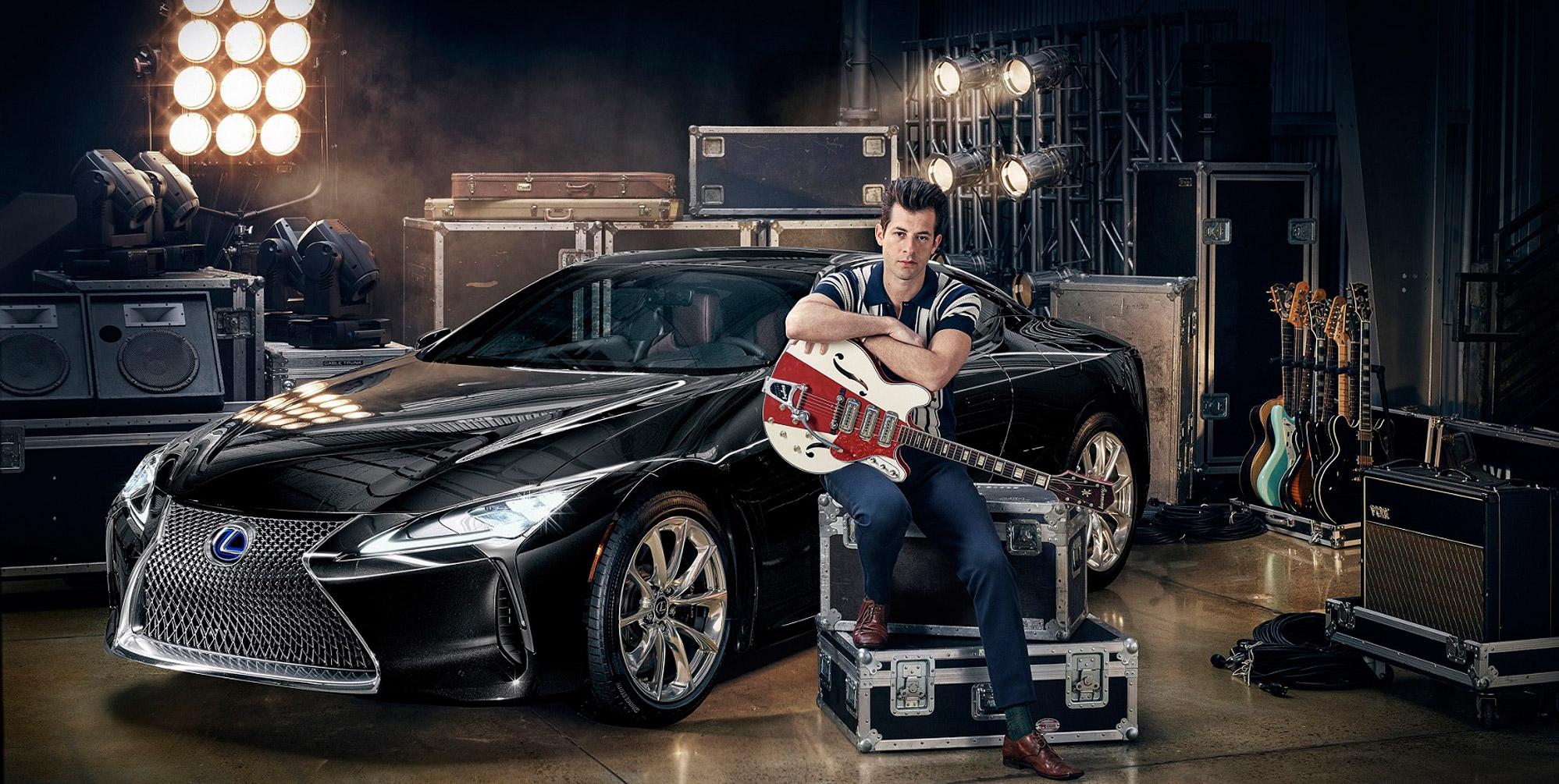 Lexus x Mark Ronson 01