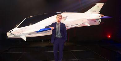 Skyjet буде використовуватись в новому науково фантастичному фільмі Люка Бессона «Валеріан і Місто тисячі планет