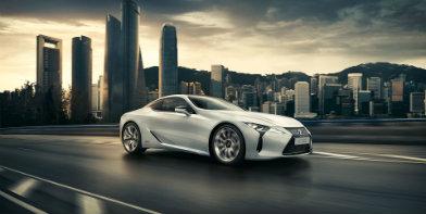 Мережа офіційних дилерів Lexus в Україні розпочала прийом заявок на флагманське купе Lexus LC