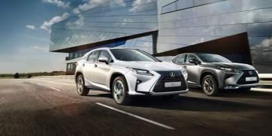 Весняна пропозиція від Lexus RX