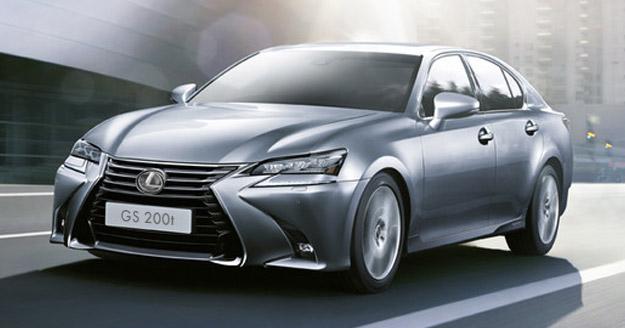 Прийом замовлень на оновлений седан Lexus GS