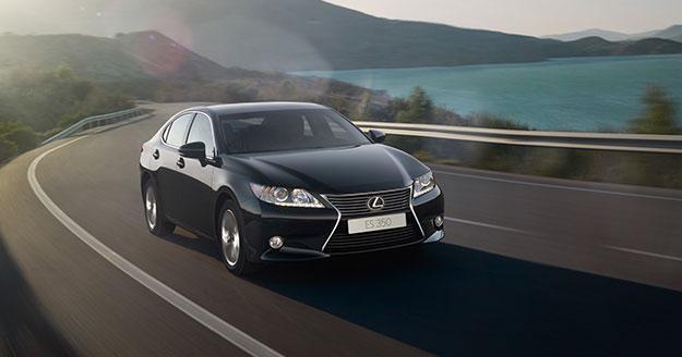 Офіційна презентація Lexus ES в Україні