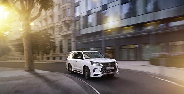 Старт замовлень на нову версію преміум позашляховика Lexus LX 570 Sport