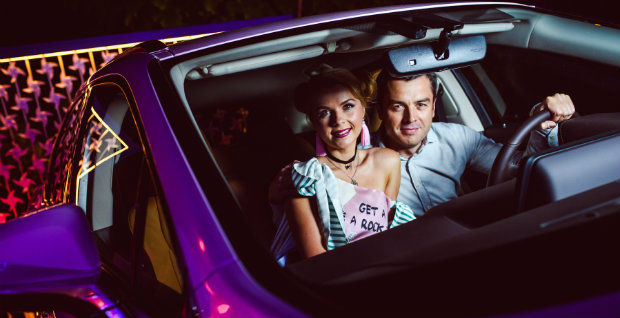 Lexus RX 200t на «JetSetter Space Party» в Одесі