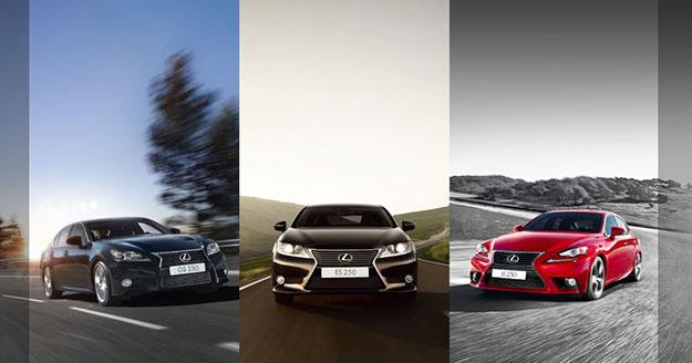 Вигідна цінова пропозиція на седани Lexus