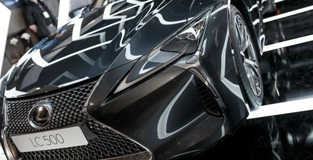 Cпеціальний проект Lexus Smart Sound Lexus LC 500