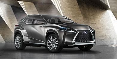 Відбулася світова прем'єра концептуального кросовера Lexus LF NX