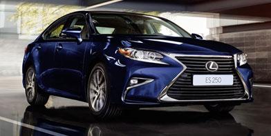 Прийом замовлень наоновлений розкішний седан Lexus ES