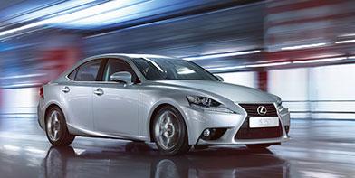 Новий Lexus IS отримав максимальний рейтинг безпеки Euro NCAP — 5 зірок