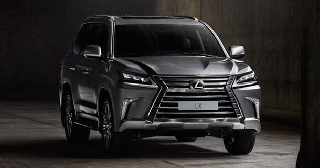 Новий Lexus LXвже вУкраїні